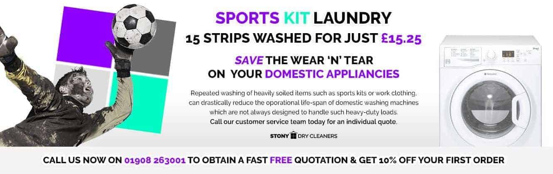 sports kit laundry
